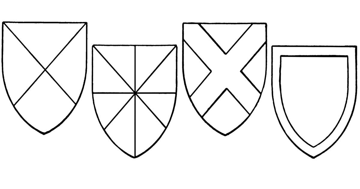 Blank Coat of Arms ~ Karen's Whimsy