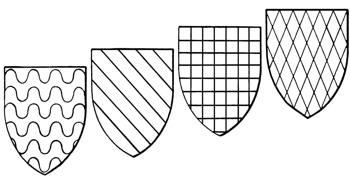 Shield Templates ~ Karen's Whimsy