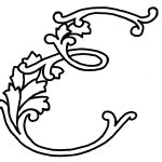 Fancy Cursive Letters ~ Karen's Whimsy