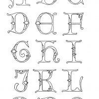 Letters & Alphabets ~ Karen's Whimsy