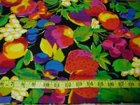 Samples of Large Print Fabric for the Machine Quilting