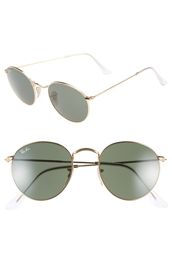 Ray-Ban Icons Round Metal Sunglasses