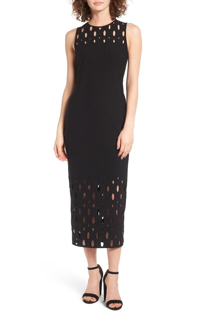 Trouve Body-Con Maxi Dress
