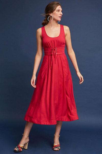 Long summer dress for women over 40