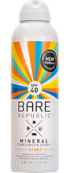 Bare Republic Mineral Sunscreen Spray