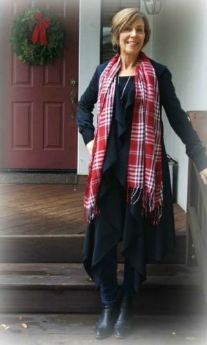 Holiday Dressing - Festive Scarf 2