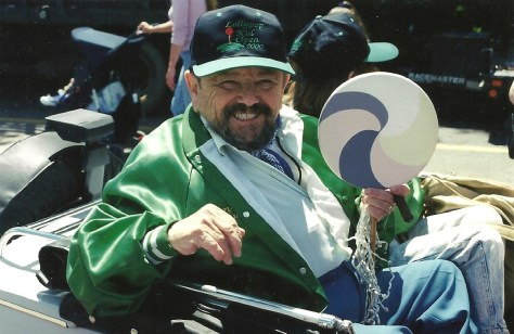 Jerry Maren in the 2000 Ozstravaganza parade, Chittenango, NY