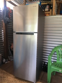 Samsung Fridge with built in digital inverter rated at 317 Kwatts per year