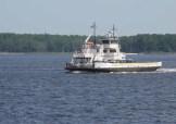 The Floyd J. Lipton, working the Cherry Branch - Minnesott Beach ferry route.