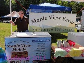 Maple View Ice Cream.