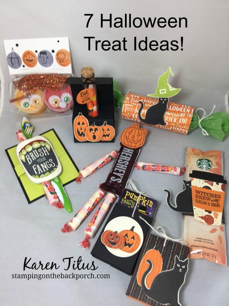 Halloween Treat Ideas For Coworkers : halloween, treat, ideas, coworkers, Quick, Halloween, Treat, Ideas!, KarenTitus.com