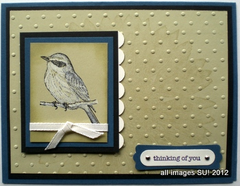 Stampin Up Card Ideas For Trees And Birds