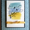 Serene plus on pinterest serene silhouettes sympathy cards and