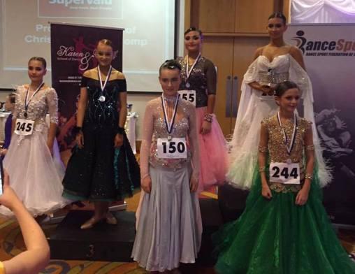 Our Juniors taking over the finals ! 1-Megan,2-Caroline,4-Kotryna,6-Caiti