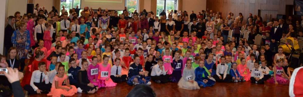 Some of the children at the competition ! What a crowd !