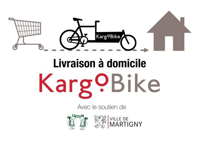 livraison domicile vélo martigny coursier transport cargobike