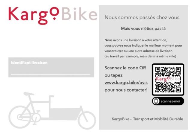 kargobike livraison transport coursier vélo mobilité durable sion sierre martigny monthey aigle lausanne avis de passage
