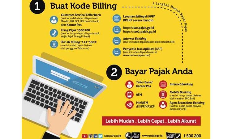 ebilling pajak sistem bayar pajak secara online - e billing pajak - Bayar pajak online - djp online e billing -