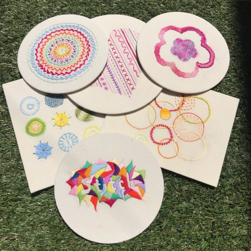 hand embroidery samples