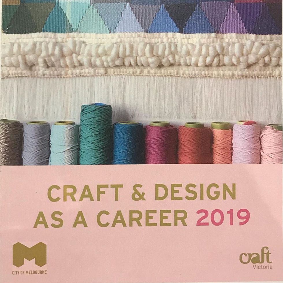 Craft as a Career 2019 championing making and ideas driven practice. Listening to some great craftspeople 🧵 #craftasacareer #craftcubed #craft #making #ideas #jewellery #textiles #ceramics #woodwork @craftvictoria