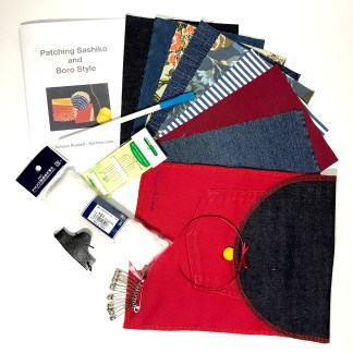 Sashiko Mending kit - Karhina.com