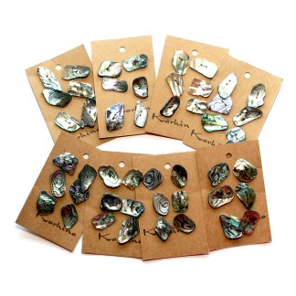Natural Paua Buttons by Karhina.com