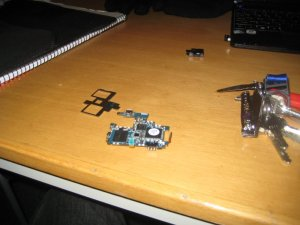 unsheilded Galaxy S i9000 board