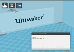 Cura Ultimaker 2 print from USB