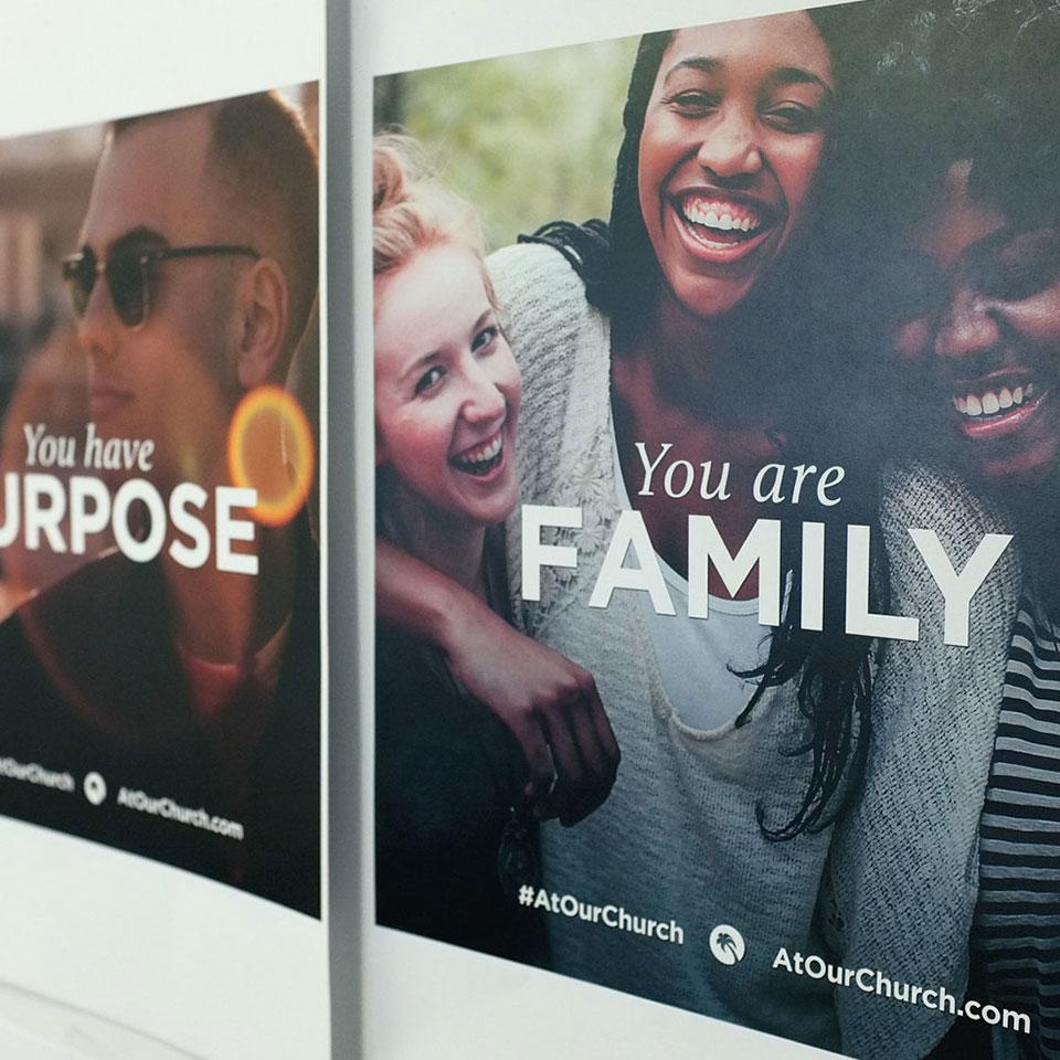 #AtOurChurch Campaign