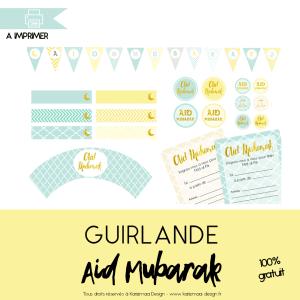 Kit de décoration Aid El Fitr