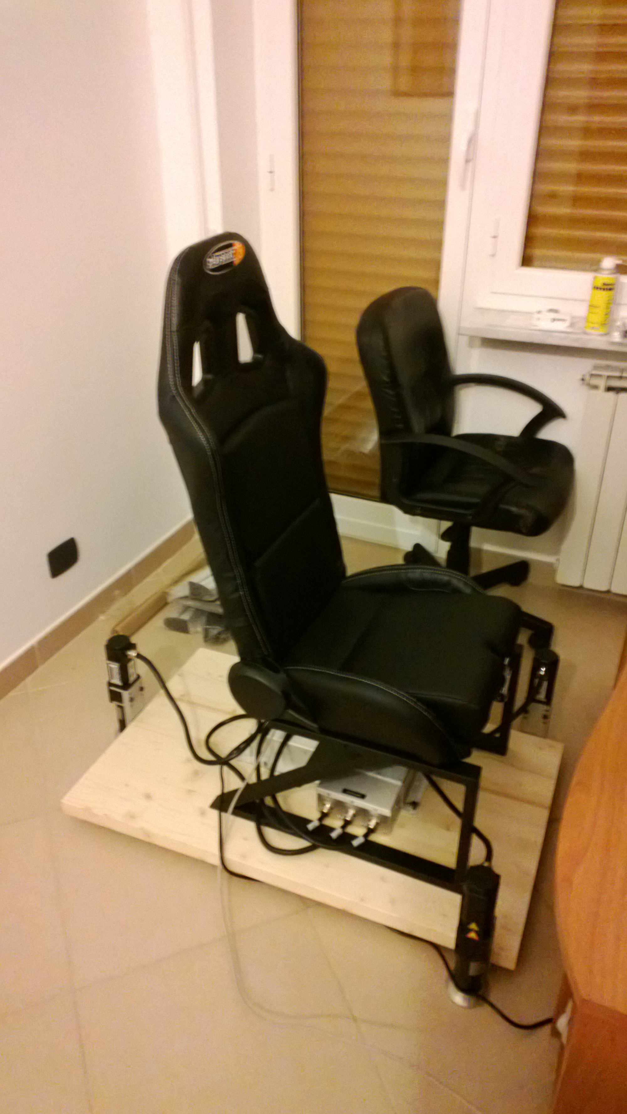 flight simulator chair motion hanging stand walmart tutorial building your platform with dbox 3250i