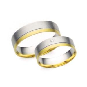 Arany karikagyűrű pár Z1