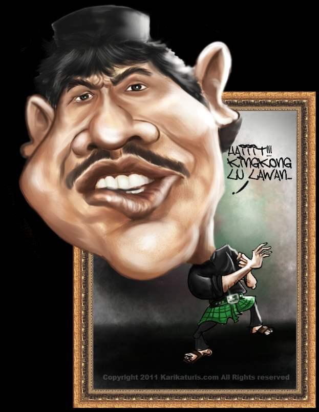 Karikatur Bang Benyamin Sueb Alm  Kumpulan Gambar Karikatur