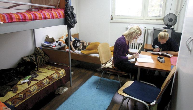 Kako do sobe u banjalučkom studentskom domu?