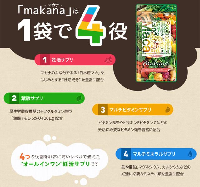 マカナ 四役