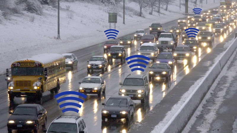 Travel Time measurement using Random Bluetooth and Wifi Signals