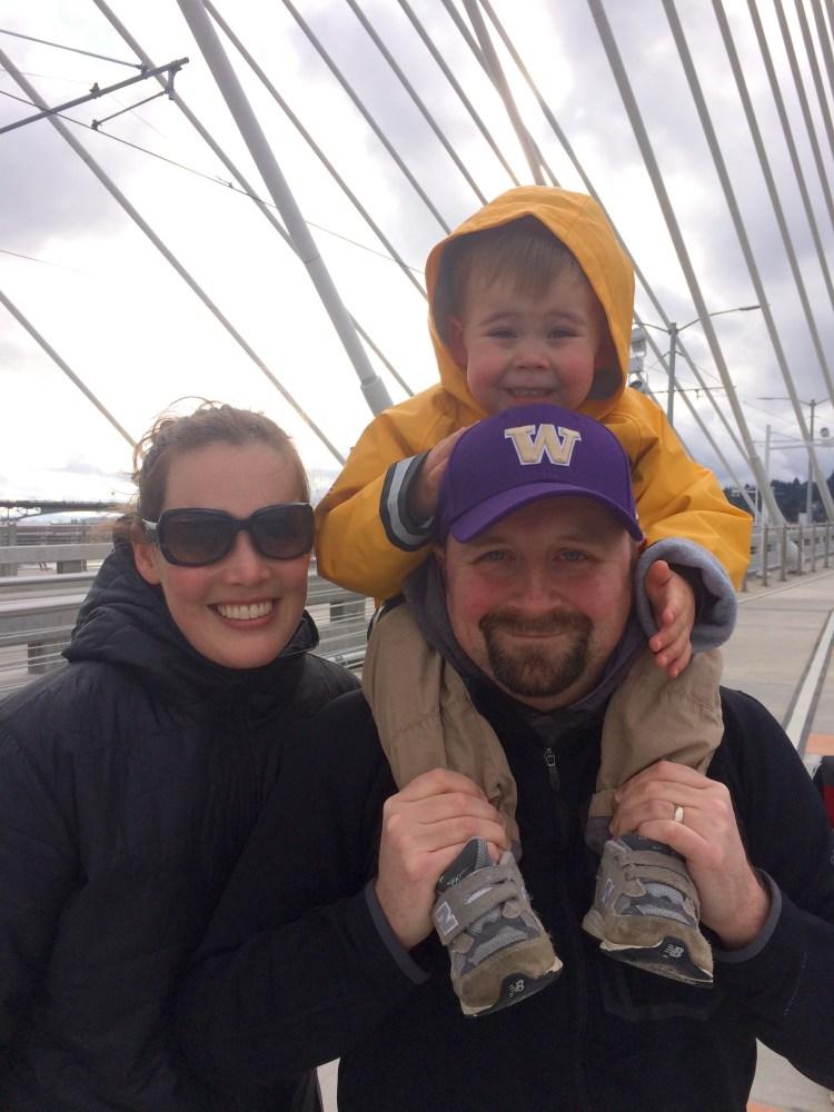 Kari, Michael, and Owen
