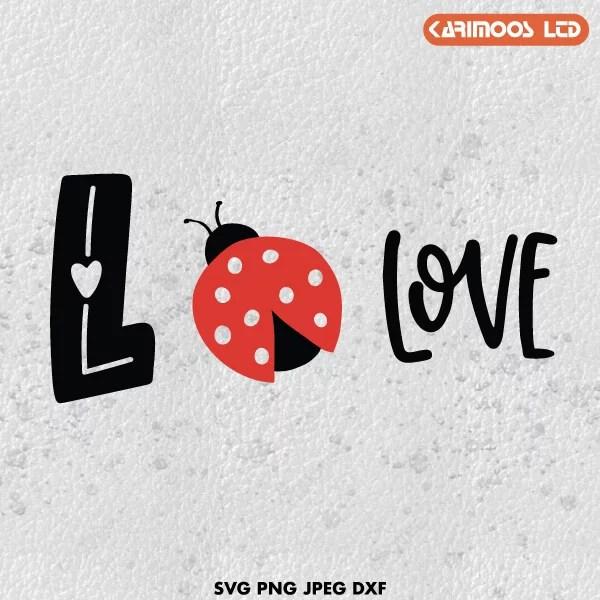 Download Love Bug SVG, Love Bug, Valentine's SVG | Karimoos