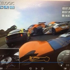 RS2 E26 Huge 7 car pile up crash in Race 3