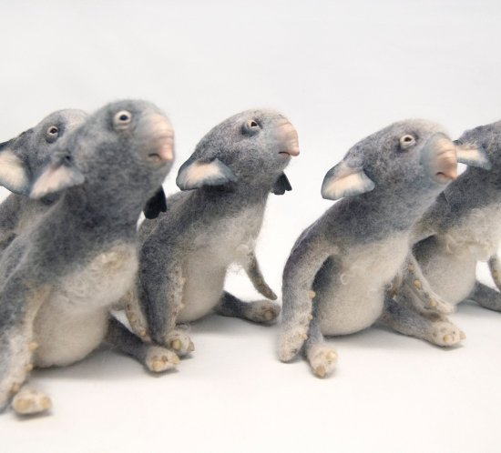 Needle Felted Imaginary Animals by Karina Kalvaitis