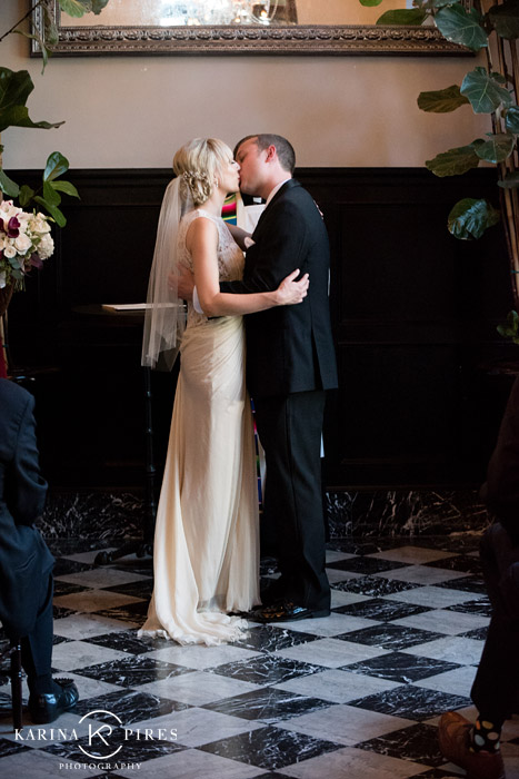 Culver Hotel Wedding  Kirsten  Dominic  Karina Pires