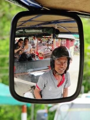 Rickshawing around