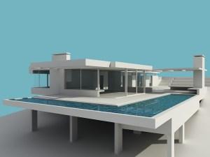 Render Edificio Arquitecta Cristal Karin Bia