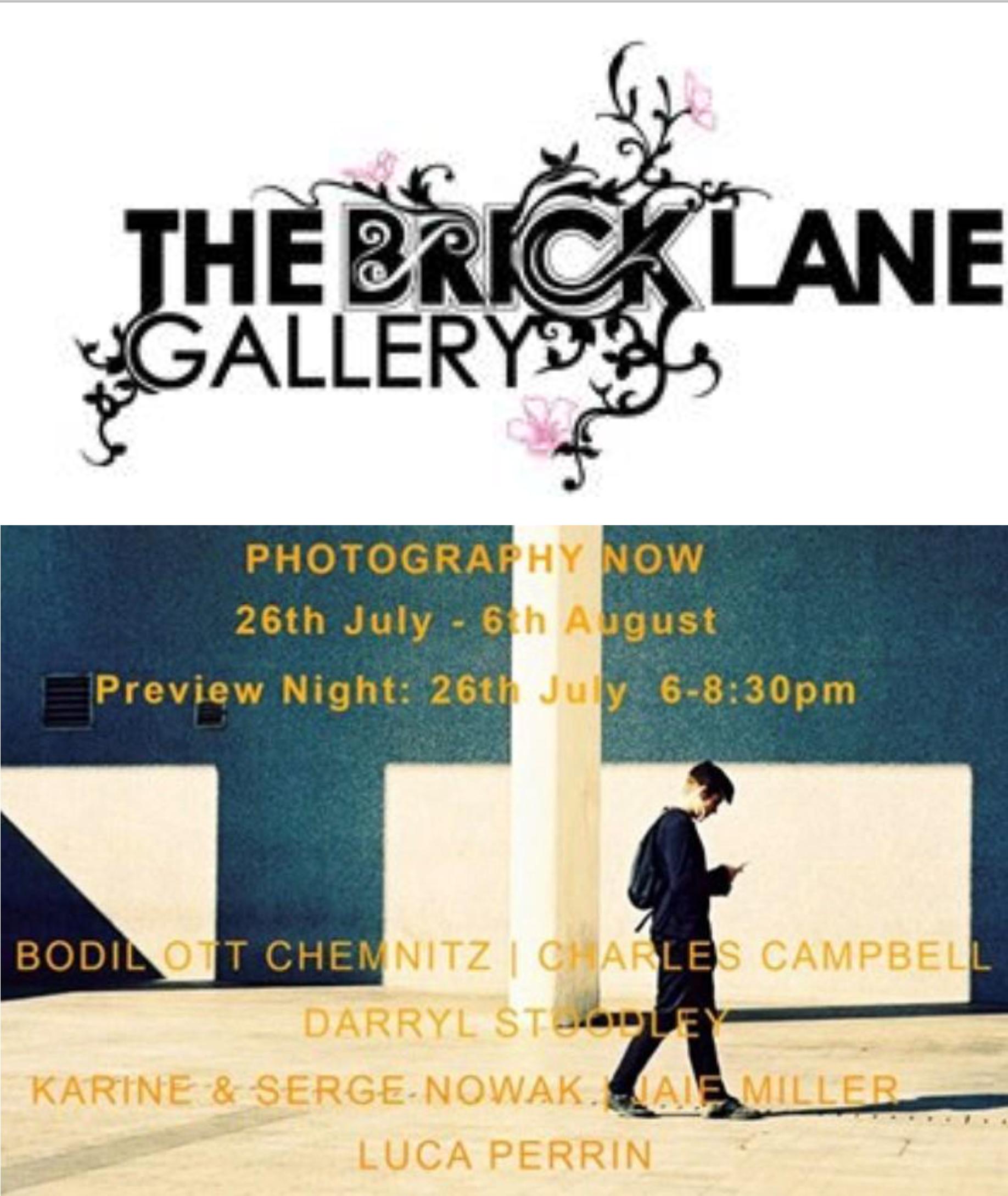 Brick Lane Gallery Karine Nowak Photographe