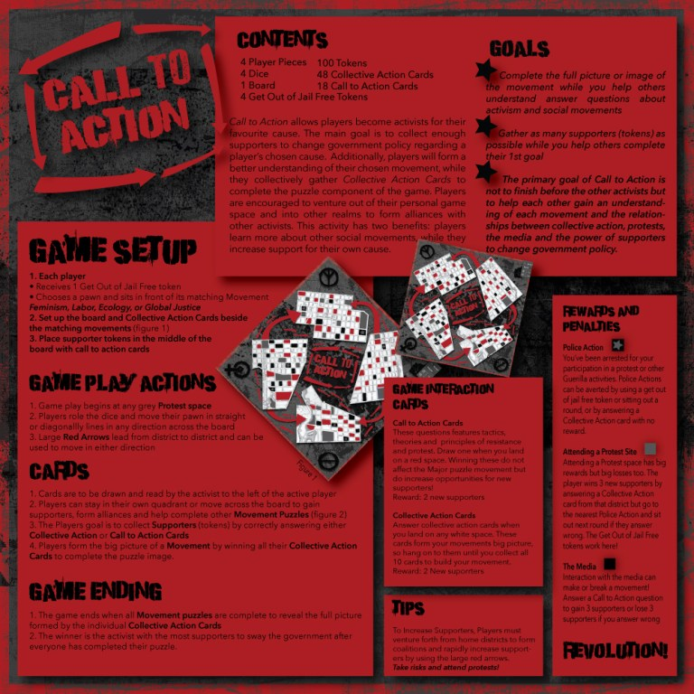 Rules - Call to Action Game