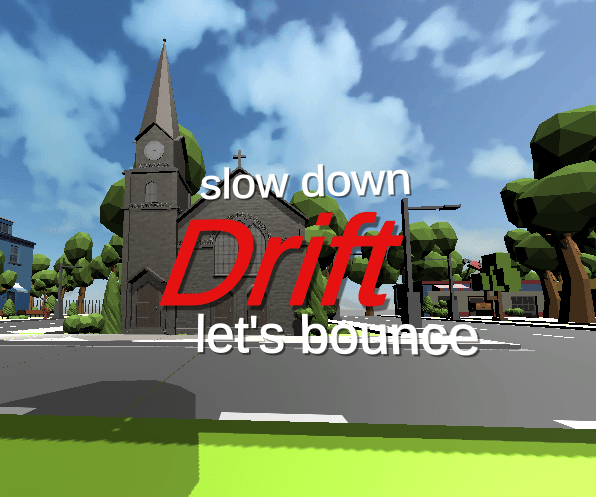 Drift Digital Game Logo