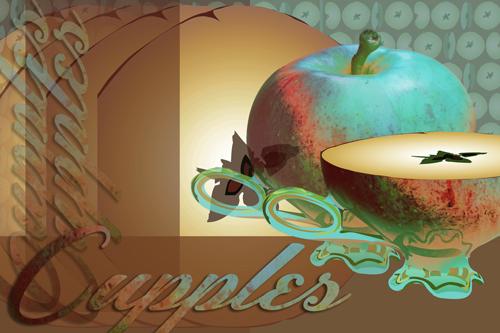 Apple Cupplets Blue | Cupples