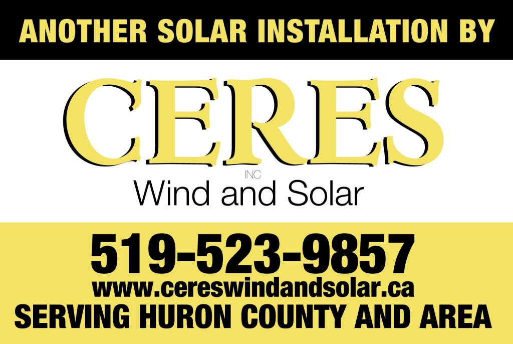 Ceres | Lawn Sign