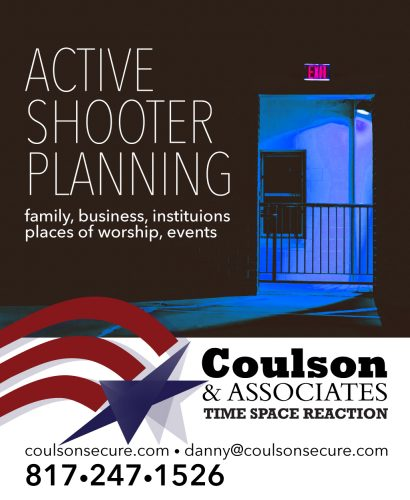 Coulson and Associates Active Shooter Planning Advertisement