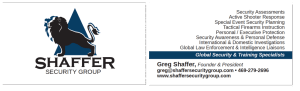 Shaffer Business Card